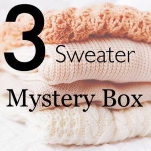 Sweaters - ✨EARTH TONE SWEATER MYSTERY BOX 📦✨NEW WITH TAGS
